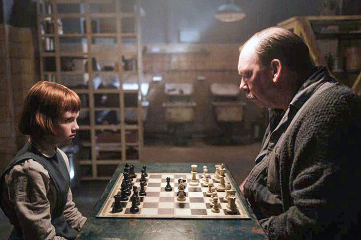 صحنه هایی از ملکه شطرنج